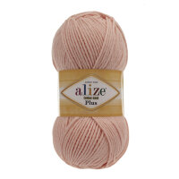 Пряжа Alize Cotton gold plus цвет пудра 143