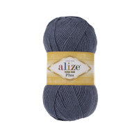 Пряжа Alize Cotton gold plus цвет джинс меланж 203