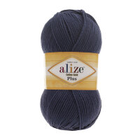 Пряжа Alize Cotton gold plus цвет черника 215