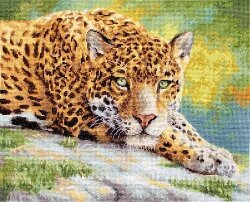 Peaceful Jaguar LetiStitch 920