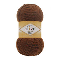 Пряжа Alize Cotton gold plus цвет корица 373