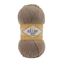 Пряжа Alize Cotton gold plus цвет норка 629