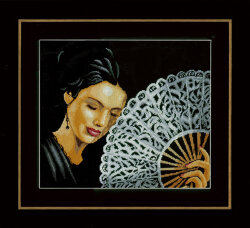 Woman with a Fan Lanarte PN-0154330