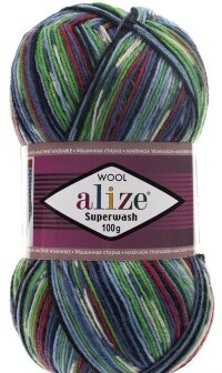 Пряжа Alize Superwash 100 цвет 2700