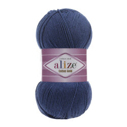 Пряжа Alize Cotton gold цвет джинс 279