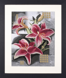 Composition Of Pink Lilies  Lanarte PN-0008291