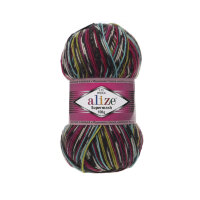 Пряжа Alize Superwash 100 цвет 6764